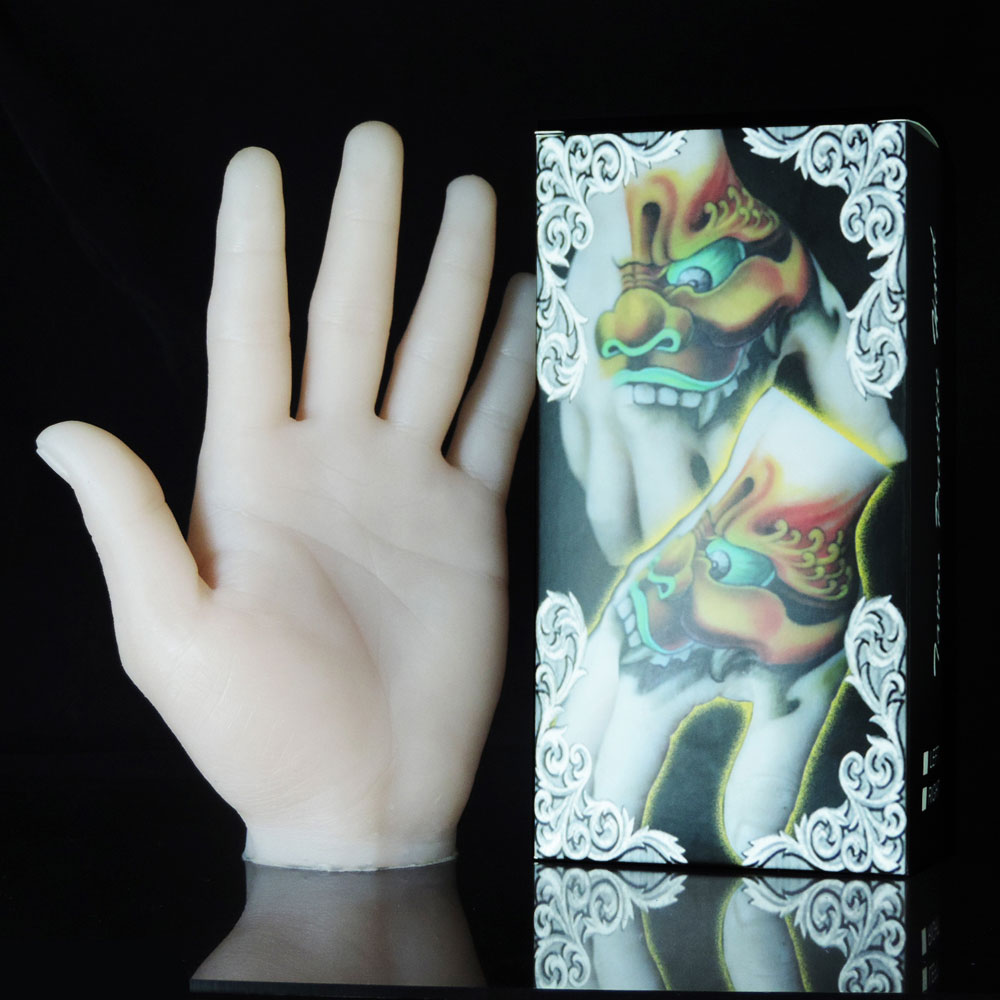 New 3d soft silicone tattoo practice fake skin hand model for How to make fake skin for tattooing