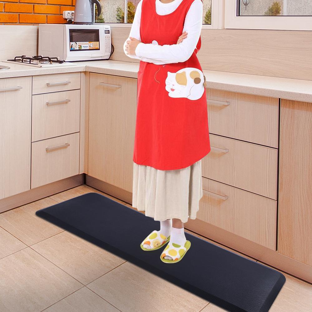 Details about Cushioning Anti Fatigue Kitchen Floor Mat Standing Desk  Office 3/4\