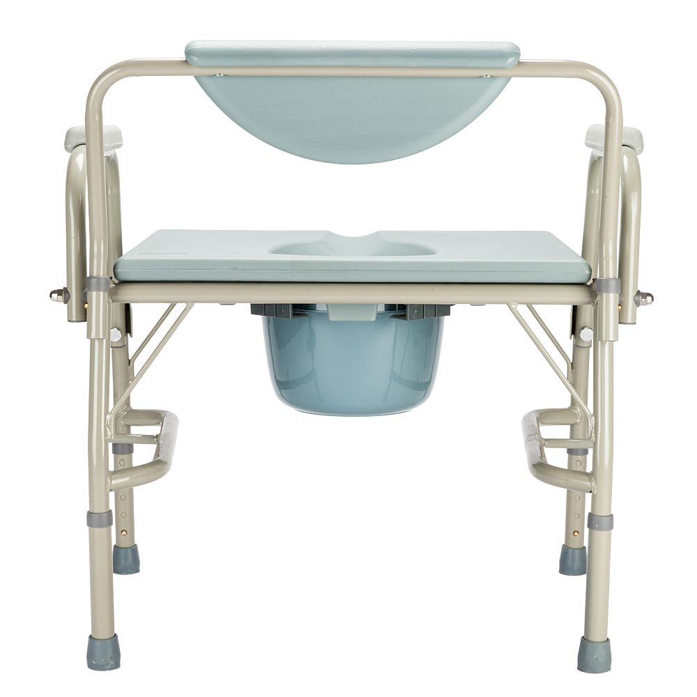 New Folding Bedside Bathroom Toilet chair Commode Seat Shower Potty ...